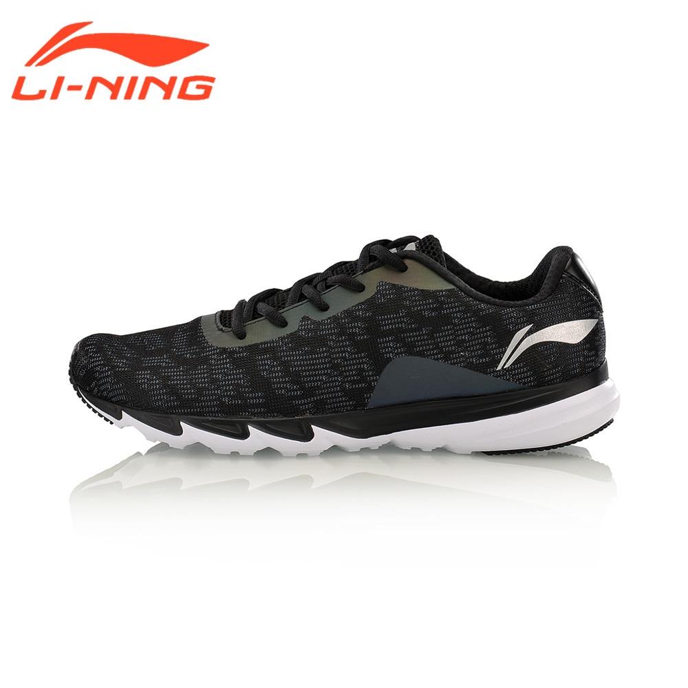 Li-Ning Men's Light Weight Running Shoes Professional Reflective Cushioning Sneakers ARBM117 557 107nf3 02b d sub backshells light weight solid banding b mr li