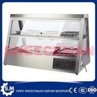 1.2 m displayer מזון חם התחממות showcase למכירה זול יותר-במעבדי מזון מתוך מכשירי חשמל ביתיים באתר