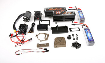 NEW Electric Oil change power Conversion kit full version for 1/5 losi 5ive-t rovan lt slt rc car parts