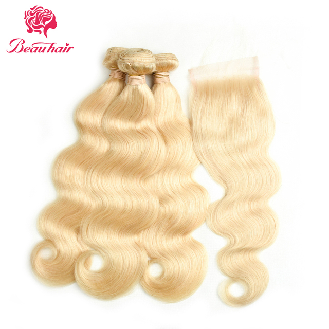 Beau Hair 613 Honey Blonde Malaysia Body Wave Hair Non Remy Human