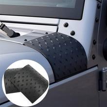 Автомобильный Стайлинг WUPP черный корпус капота Броня наружный ковбойский чехол для Jeep Wrangler JK Rubicon Sahara td0920 Прямая поставка