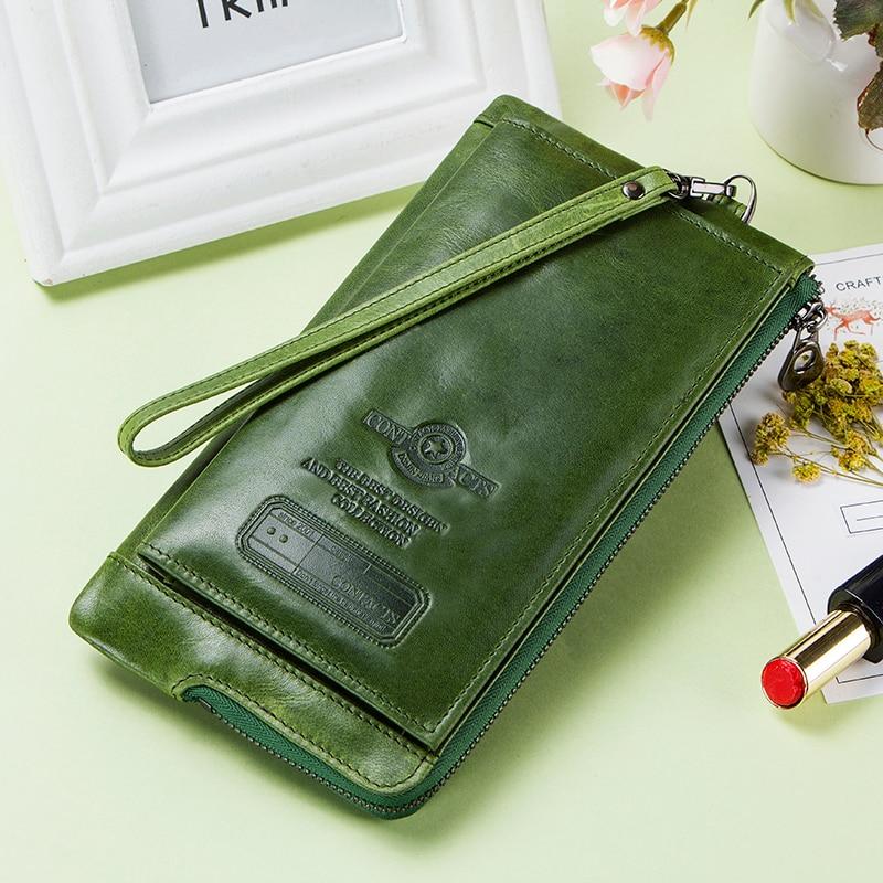 Clutch Bag Fashion Card Holder Wallet 2018 New Genuine Leath