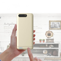Luxury Metal Bumper External Charger Cases For Xiaomi Mi6 Mi 6 Battery Backup 6000mAh Power Bank