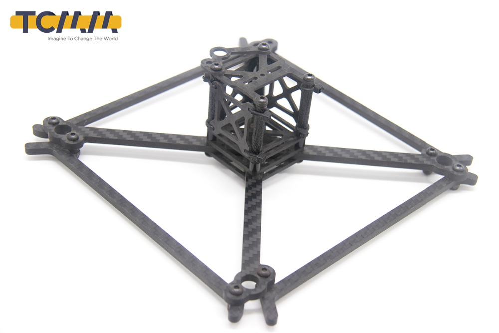 Image 2 - TCMMRC FPV Frame Kit QAV UFX Wheelbase 185mm Thickness 4mm Arm Carbon Fiber for FPV Racing Drone Quadcopter-in Parts & Accessories from Toys & Hobbies