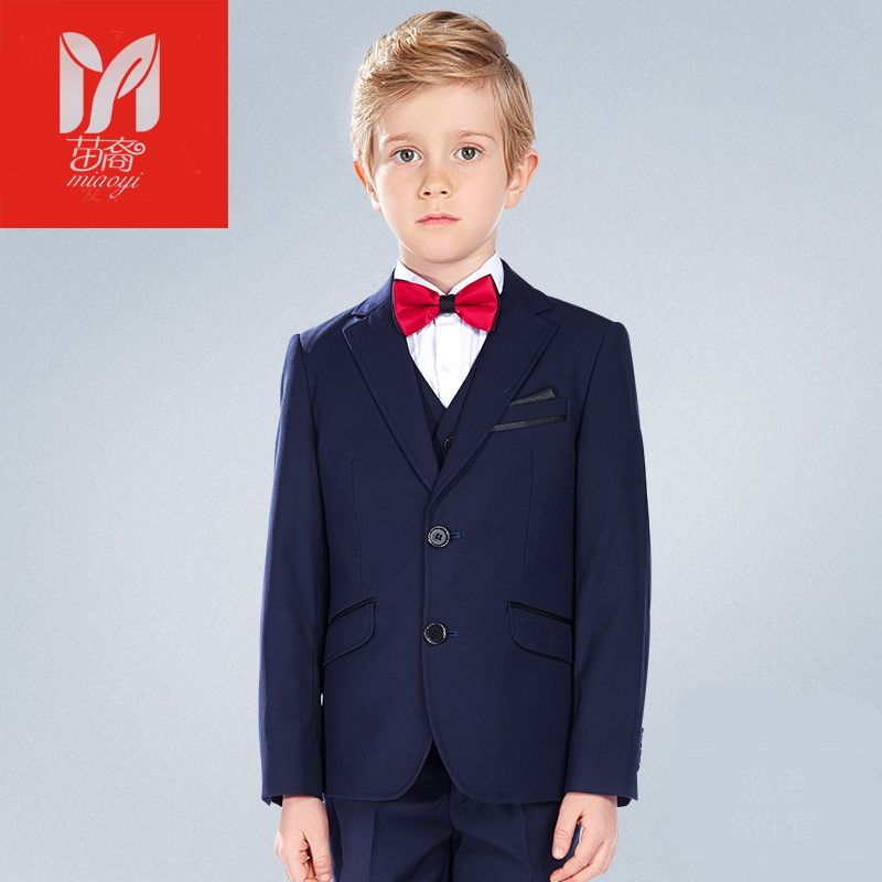 Children 's suits suit boys suits Blazers children dress dress boys flowers flower jacket spring and summer Europe and the все цены