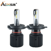 H4 H7 Led Fanless Car Headlight Bulbs PSX24W PSX26W H8 H9 H1 H13 9004 9007 12V Auto Light 6500K 8000Lm Led Fog Lamp Canbus Bulb