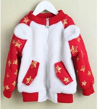 Девушки хлопка вязать свитер джемпер женский свитер ребенка детей свитер вне езды три littie fror