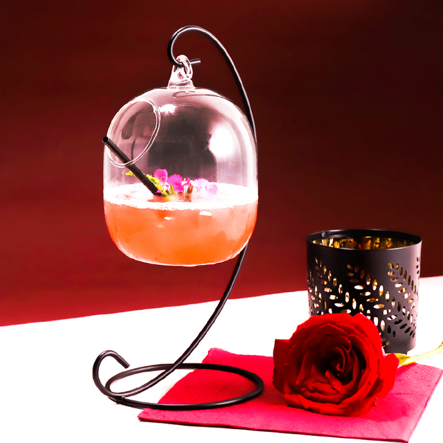 Creative Water Cup New Cocktail Hanging Glass Hanging Bottle Bar Wine Cup Drinking Cup