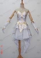 LOL Elementalist Lux Cosplay Costume E001
