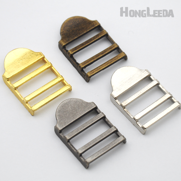 40pcs/lot 20mm Metal Alloy Adjustable Buckle Bag Backpack Luggage Slide Buckle Nickle/black/bronze/gold Free Shipping Bk-078 Perfect In Workmanship Apparel Sewing & Fabric