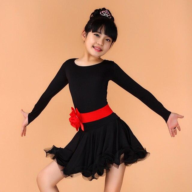 d2b32575a Online Shop Childrens Fancy Dress Sexy Latin Ballroom Dance Dress ...