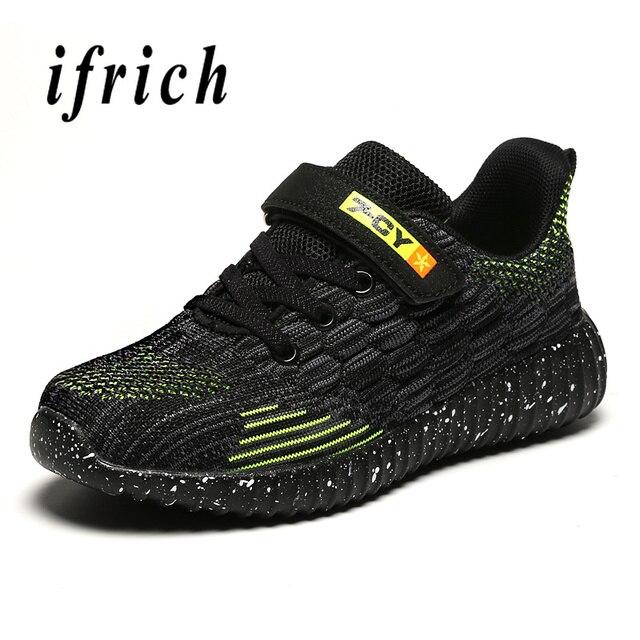 Детская обувь для мальчиков, размер 28-39, детская обувь для мальчиков, Сникеры, летняя дышащая Спортивная обувь для мальчиков, белые, синие, детские кроссовки для бега