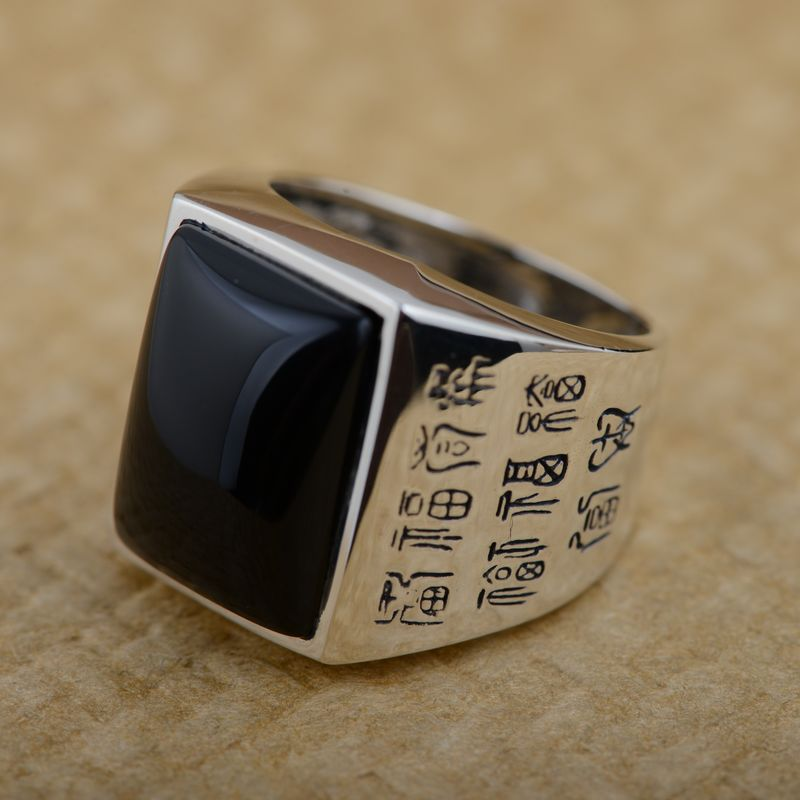 GZ S925 Thai Silver Rings for men Jewelry 925 Sterling Silver ...