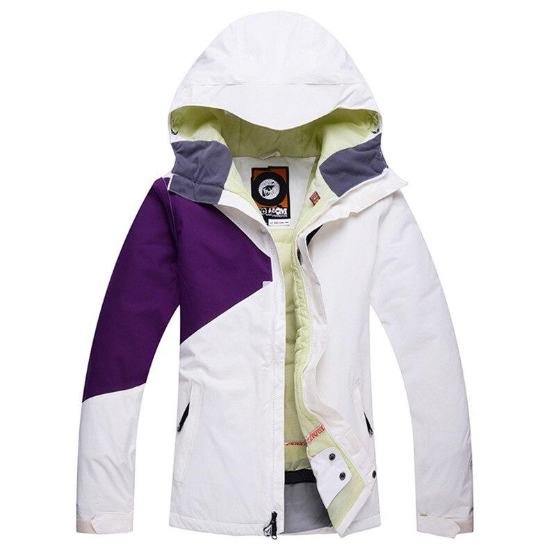 Prix pour Livraison Gratuite Date Veste de Ski Femme Imperméable Respirant Veste de Ski Femmes Thermique D'hiver Ski Veste Pas Cher Snowboard Veste