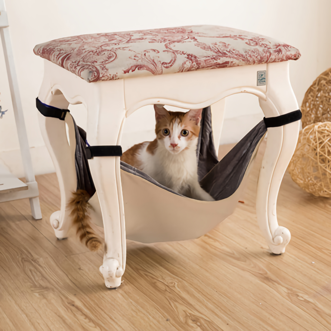 Cat Hammock Bed Comfortable Hanging Pet Hammock Bed For