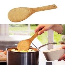 Деревянная кухонная ложка для риса, рисовой совок, шлицевая лопатка, ложка для перемешивания, держатель для приготовления пищи, посуда, ужин, еда, лопатки для вока, принадлежности