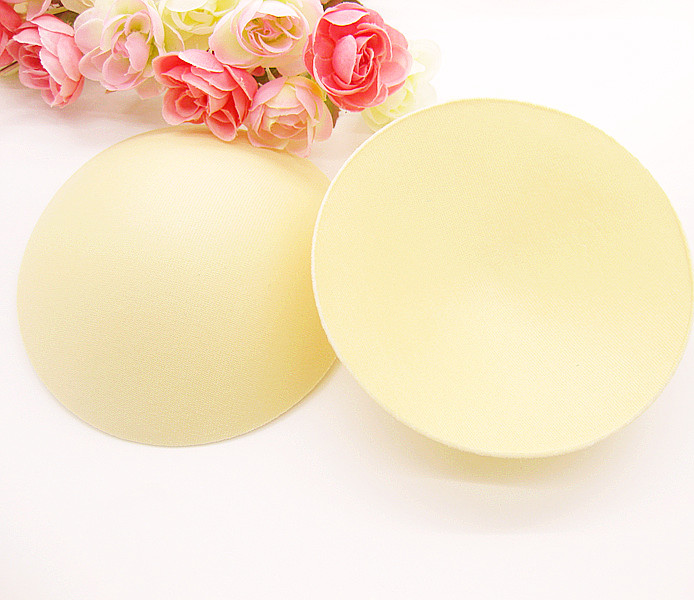 Women1 Pair/Lot 3.5cm Thick Sponge Insert Breast Enhancer Push Up Sexy Bikini Padded Bra Pads For Swimsuit Intimate Accessories