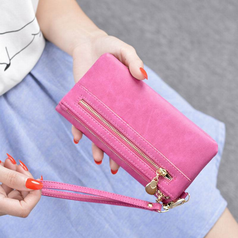 New Girl Wallets Cartoon Printed Small Zipper Leather Purses Mini Cute Women Wallet Girls Ladies Purse with Card Holder