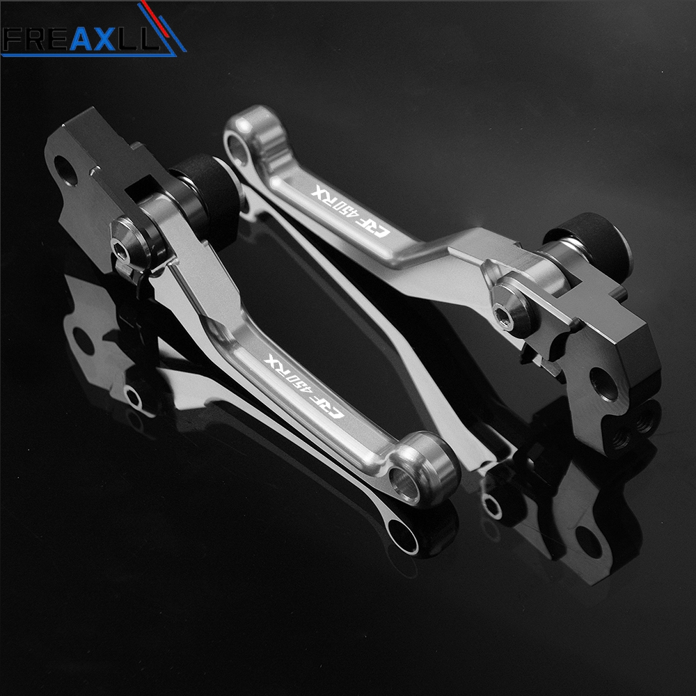 For Honda CRF450RX CRF 450RX CRF 450 RX 2017 2018 2019 CNC Motorbike Dirt Bike Motorcycle Pivot Brake Clutch Levers Handle Grips in Levers Ropes Cables from Automobiles Motorcycles