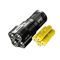 Original Product NITECORE MONSTER TM28 6000LM CREE XHP35 Rechargeable Hight Light Flashlight Hunting Outdoor Searching