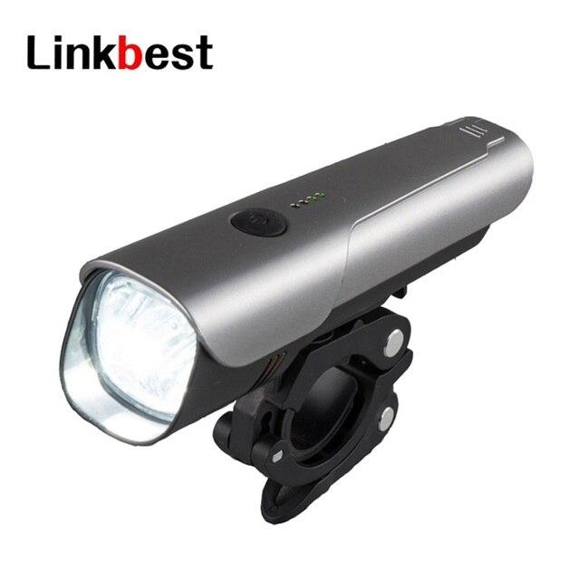 Linkbest 600 люмен USB Перезаряжаемый Велосипедный свет, Ближний Диапазон луча влагозащищенный боковой свет подходит для всех велосипедов