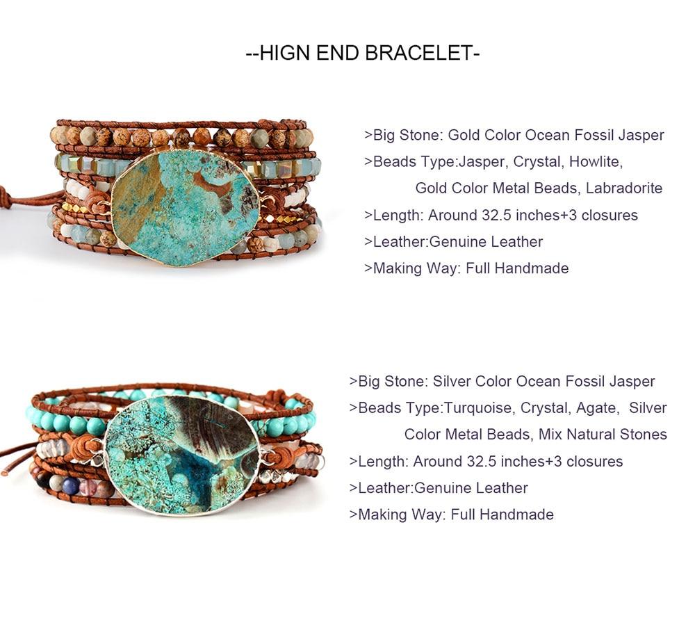 Ocean Jasper Bracelet-OK