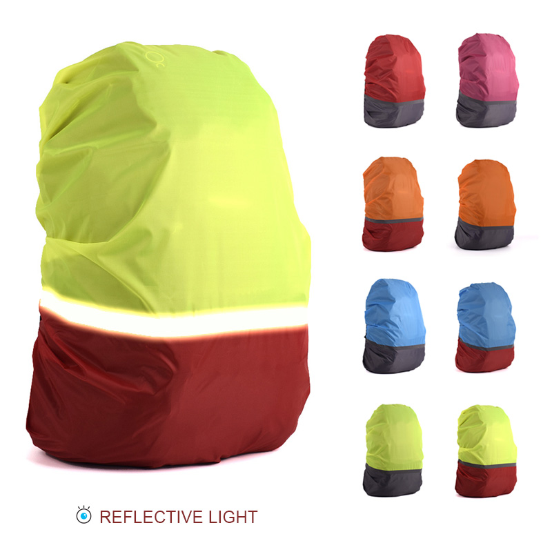20L-70L Reflective Light Waterproof Dustproof Backpack Rain Cover Portable Ultralight Shoulder Protect Outdoor tools Hiking Bags sexy sports bra and leggings