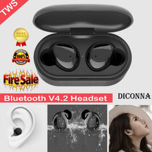 high quality Bluetooth 4.2 Wireless Headphones Earbuds Headset For Apple iPhone Airpods