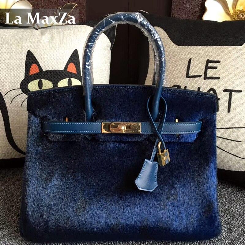 2017 Female Luxury Brand Mohair font b Handbag b font