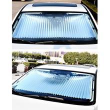 Складная Автомобильная Солнцезащитная шторка лобовое стекло козырек от солнца щит занавес солнцезащитный экран для автомобиля блок анти-УФ выдвижной оттенок автомобиля