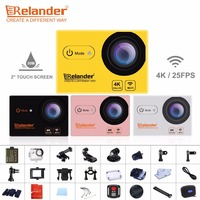 Original Crelander T9 4K Sport Action Cam 2 Touch Screen Waterproof Remote Action Camera Wifi Video Camera Sport DV VS SJ7 Star
