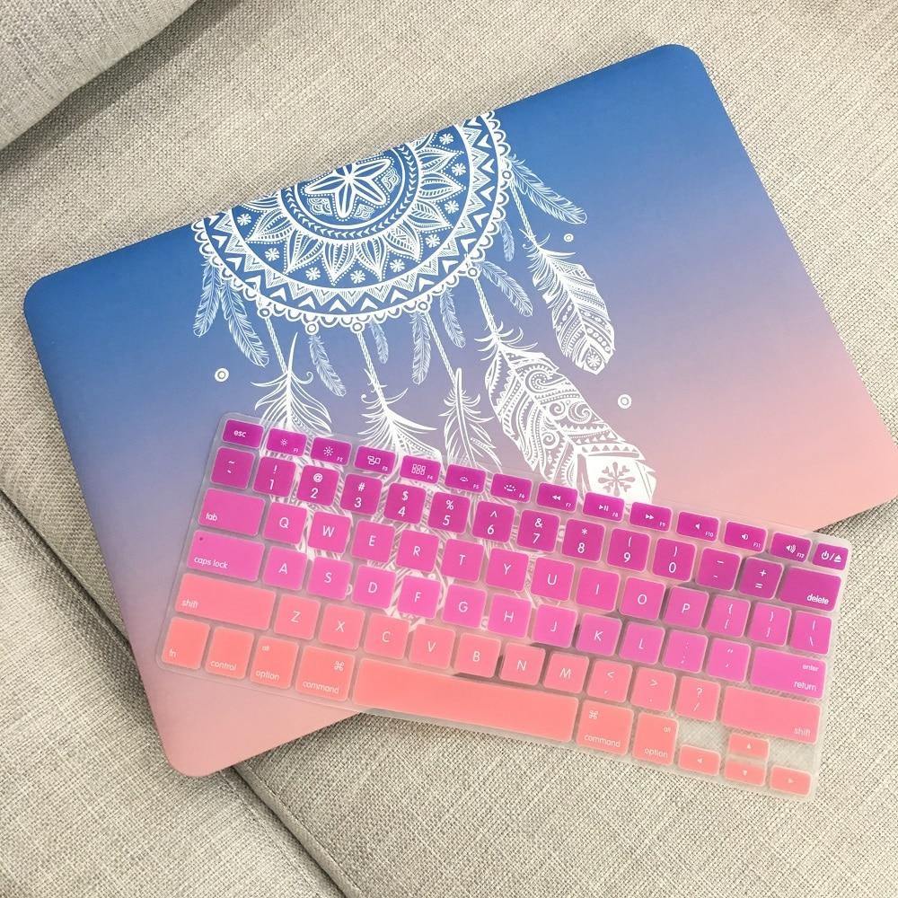 Estuche rígido de plástico con cubierta de teclado para MacBook Air - Accesorios para laptop - foto 2