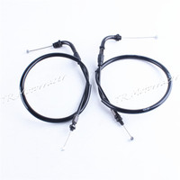 2Pcs For Honda CBR1000RR 2008 2009 2010 2011 Colorful Motorcycle Throttle Cable Wire Line Accessories