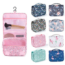 High-capacity Make-up Portable Bag Cosmetic Toiletries Oxford Pouch Waterproof Makeup Storage handbag Eco-Friendly Ziplock Bag