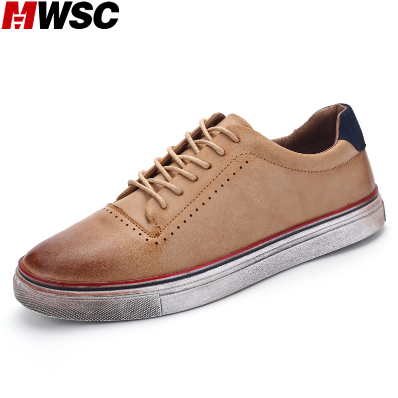 CEMM Nuevo Diseño Único Sucio de Hombre Casual Zapatos de Cuero de LA PU hombres