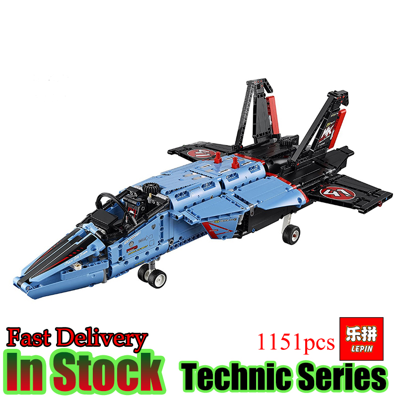 LEPIN 20031 Technic 1151pcs The jet racing aircraft Compatible 42066 Model Building Blocks Brick Kits Toys lepin 20031 technic the jet racing aircraft 42066 building blocks model toys for children compatible with lego gift set kids