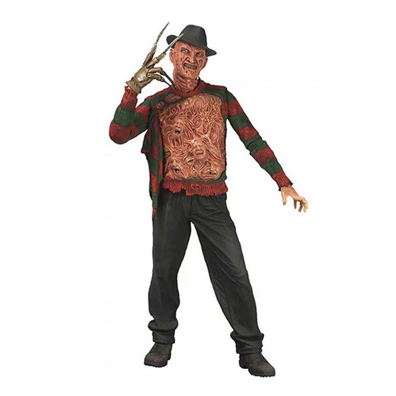 Elsadou 17cm NECA a Nightmare on Elm Street Freddy <font><b>Action</b></font> <font><b>Figures</b></font> Doll Toys