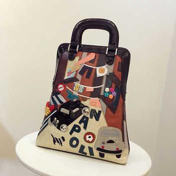 Myvision Fashion Women Backpack Feminine Double Shoulder Bags Designer School Backpacks Big Laptop Cat Backpack For Girl Travel