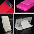 For Sony Xperia ZR M36h C5502 C5503 5 Colors PU Leather Flip Wallet Case Soft TPU Inner Stand Leather Cover