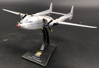 LEO 1 200 Italy Air Force C 119G Propeller Conveyor Model Alloy Collection Model Holiday Gift