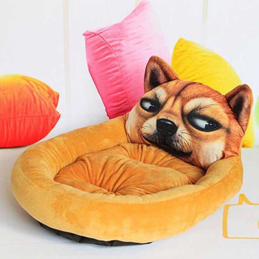 Hot Dog Haus Warme Winter Welpen Katze Bett Welpen Nest Kennel Weichen Fleece Pet Sofa Schlafsack