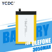 3050mAh Li-ion Lithium Battery Rechargeable For Ulefone Metal Mobile Phone High Quality Cell Phone Lithium Battery Replacement