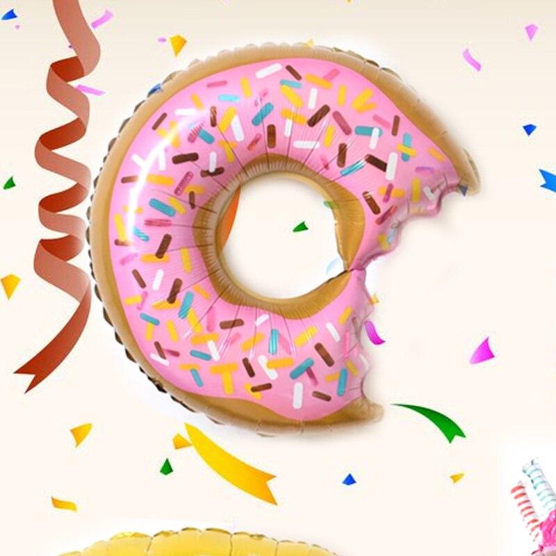 1pcs Kid's Party Cartoon Hats Donut Shape Hat Toys Hat Balloon Happy Birthday Toys Gift Decoration Party Ballon Hats Cartoon