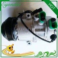 A/C AC Compressor de Ar Condicionado Bomba De Refrigeração com Embreagem PV6 DVE13 para Kia Sportage 2.0 G4NC HYK301 P300133500 977013-Z500