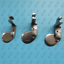 3 pcs. INDUSTRIAL SEWING MACHINES ball ROLL HEMMING Feet BROTHER JUKI CONSEW#490358 1/8+ 3/16+1/4
