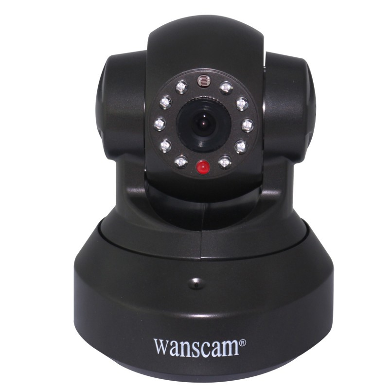 Wanscam HW0024 Wireless Wifi 720P IP Camera Dual Audio P2P Plug AND Play Pan Tilt Security Network Indoor Camera IR Night Vision