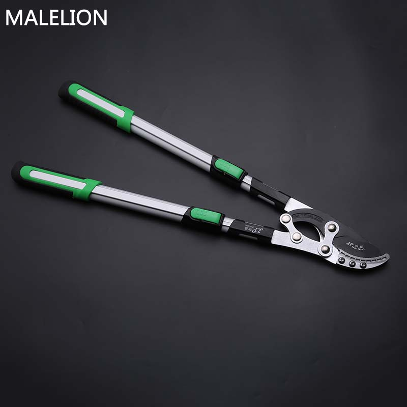 Gardening High-Altitude Telescopic Shears Labor-Saving High-Branched Pruning Shears Home Garden Tools High Branch Saw