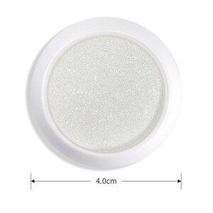 Image 5 - 1 Box Pearl Shell Glitter Nail Chrome Pigment Powder Dazzling DIY Micro Holographic Unicorn Nail Art Decorations Polish Manicure