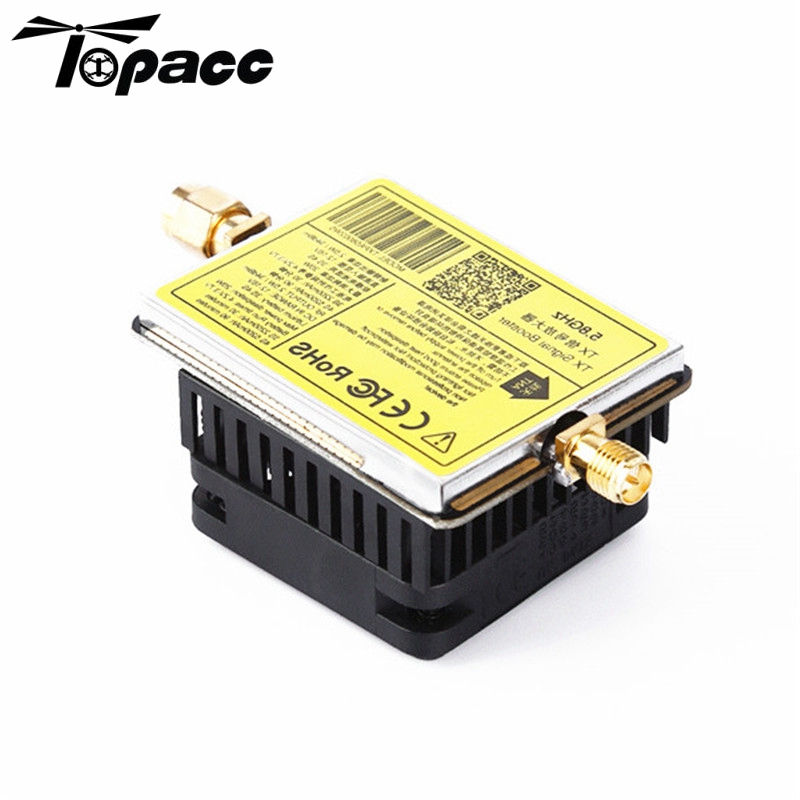 5.8G 3W / 4.5W Signal Enhancement Board Booster Extended Range for RC Transmitter TX Below 600mW Models FPV Drone Quadcopter yuneec typhoon h480 transmitter signal antenna extended omni directional signal range for rc typhoon h480 quadcopter