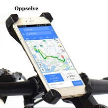 Universal Bicycle Phone Holder 4.5-7 inch Smartphone Bike Support Anti-Slip Motorcycle Mount Bracket Cycling Stand